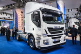 New IVECO Stralis 330 at the 65th IAA Commercial Vehicles 2014 in Hannover, Germany — Zdjęcie stockowe