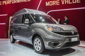 New Fiat Doblo Van at the 65th IAA Commercial Vehicles Fair 2014 in Hannover — Stock Photo