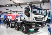 New IVECO Trakker 400 at the 65th IAA Commercial Vehicles 2014 in Hannover, Germany — Zdjęcie stockowe