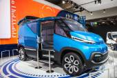 IVECO VISION Concept Van at the 65th IAA Commercial Vehicles Fair 2014 in Hannover, Germany — Zdjęcie stockowe