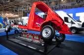 New Ford Transit 4x4 Chassis at the 65th IAA Commercial Vehicles fair 2014 in Hannover, Germany — Stock Photo
