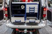 Detail of the new Citroen Berlingo 4x4 — Stock Photo