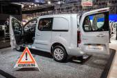 New Citroen Berlingo 4x4 Van at the 65th IAA Commercial Vehicles fair 2014 in Hannover, Germany — Stock Photo