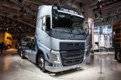 VOLVO FH truck at the 65th IAA Commercial Vehicles Fair 2014 in Hannover, Germany — Stock Photo