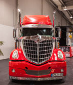 Kenworth International Lonestar truck at the 65th IAA Commercial Vehicles Fair 2014 in Hannover, Germany — Stock Photo