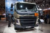 VOLVO FM truck at the 65th IAA Commercial Vehicles Fair 2014 in Hannover, Germany — Stock Photo