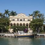 Luxurious mansion on Star Island in Miami, Florida, USA — Stock Photo #54917411