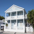 Blue house in Key West, Florida, USA — Stock Photo #55542541