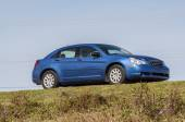 Blue Chrysler Sebring sedan from 2008 in Florida, USA — Stockfoto