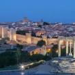 View of the medieval city of Avila, Castile and Leon, Spain — Stock Photo #57429811