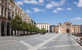 Plaza de Santa Teresa in Avila, Castile and Leon, Spain — Stock Photo