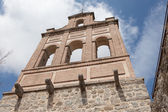 Ancient bell tower in Avila, Castile and Leon, Spain — Stock Photo