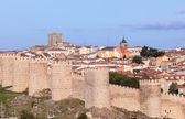 Old city wall in Avila, Castile and Leon, Spain — Stock Photo