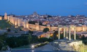 View of the medieval city of Avila, Castile and Leon, Spain — Stock Photo