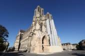 Reims Cathedral in Champagne region, France — Stock fotografie