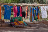 Market stand at roadside in Morocco, Africa — ストック写真