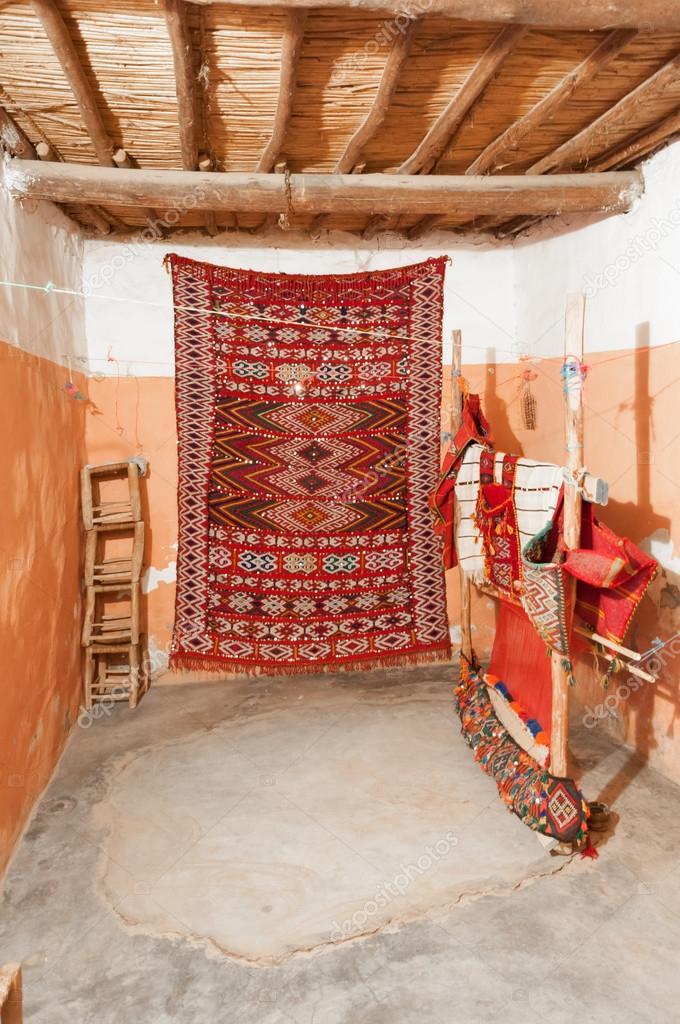 Tradizionali tappeti berberi in Marocco, Africa — Foto ...