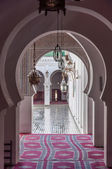 Gate to the Madrasa Bou Inania in Fez, Morocco, Africa — Stock Photo