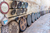 Pottery and souvenirs market in the medina of Fez, Morocco, Africa — Stockfoto
