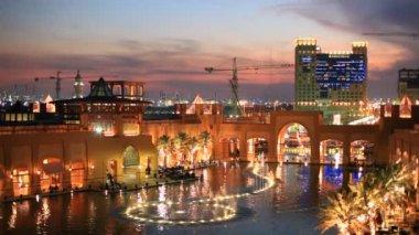Al Kout Mall in Kuwait — Vídeo Stock
