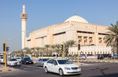 Grand Mosque in Kuwait City. December 9, 2014 in Kuwait, Middle East — Stock Photo