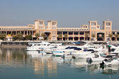 Yachts and boats at the Sharq Marina in Kuwait City. December 9, 2014 in Kuwait, Middle East — Stock Photo
