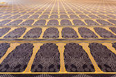Beautiful carpet inside of the Grand Mosque in Kuwait City, Middle East — Stockfoto