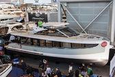 Boot Düsseldorf 2015 - de's werelds grootste yachting en water sport tentoonstelling. 25 januari 2015 in Düsseldorf, Duitsland — Stockfoto