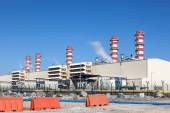 Modern Power Station in the United Arab Emirates — Stockfoto
