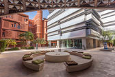 ABU DHABI - DEC 23: View of the Masdar Institute of Science and Technology, Abu Dhabi. December 23, 2014 in Abu Dhabi, United Arab Emirates — Stock Photo