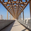 Pedestrian overpass in Kuwait City, Middle East — Stock Photo #68151583