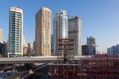 Construction Site in Dubai, United Arab Emirates — Stock Photo