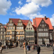 Historic center of Bremen, Germany — Stock Video #69726169