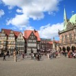 Historic center of Bremen, Germany — Stock Video #69727699