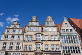 Historic buildings in the old town of Bremen, Germany — Stock Photo