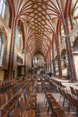 BREMEN, GERMANY - APR 5: Interior of the Bremer Dom Cathedral in the city of Bremen. April 5, 2014 in Bremen, Germany — Stockfoto