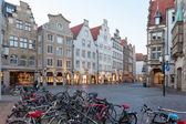 Old town of Muenster, Germany — Stock Photo