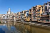 Picturesque  old town of Girona, Spain — Stock Photo