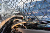Interior of the shopping mall MyZeil in Frankfurt, Germany — Stock Photo
