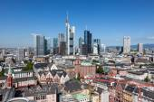 Skyline of Frankfurt Main, Germany — Stock Photo
