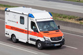 German Red Cross Rescue Service Car — Stock Photo