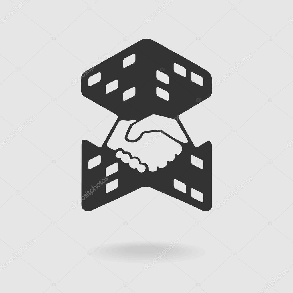 Symbole de transaction immobili re image vectorielle for Transaction immobiliere