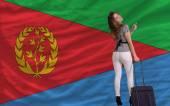 Tourist travel to eritrea — Stock Photo