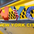 New York City Taxi Cab Tourist Travel — Stock Photo #53974449
