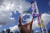 Crystall ball liebling hafenblick — Stockfoto