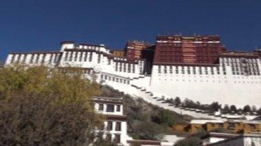 Tibet Potala Palace — Stock Video