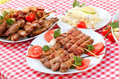 Specialty grilled - grilled meat — Foto Stock