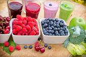 Healthy drinks - beverages — Stock Photo