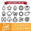 Nature icons set 26 — Stock Vector #57454507
