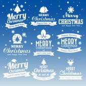 Christmas set — Stock Vector